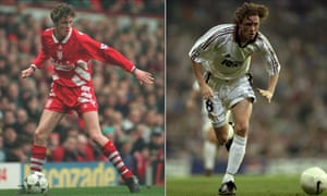 Steve McManaman left Liverpool for Real Madrid on a Bosman transfer and won the Champions League in his first season with the Spanish club.