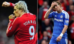 The departure of the prolific Fernando Torres came as a serious blow to Liverpool fans but the striker struggled at Chelsea.