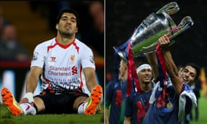 Luis Suárez inspired Liverpool to the brink of their first title in 24 years and was sorely missed after he left for Barcelona, where he won trophies including the European Cup last season.