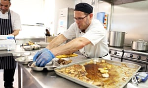 School chef Lucio, whose cooking has changed mealtimes for the better.