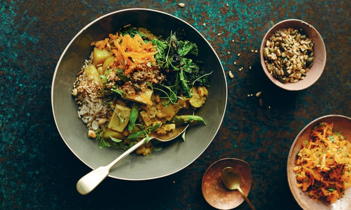 Its the food that makes me happy delicious new vegetarian recipes its the food that makes me happy delicious new vegetarian recipes from anna jones food the guardian forumfinder Images