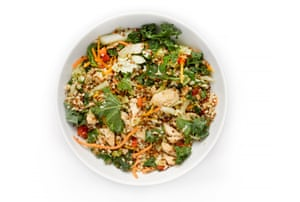 G2 salad taste test: Tesco Spiced Chicken
