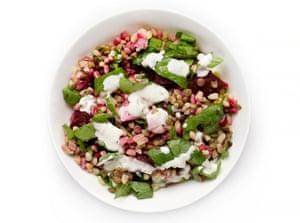 G2 salad taste test: Wheatberry