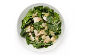 G2 salad taste test: Roast Chicken and Kale