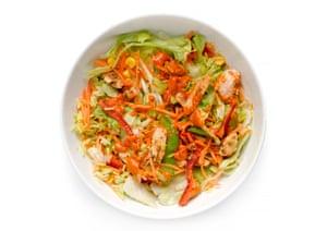 G2 salad taste test: Piri Piri