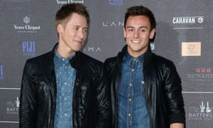 Tom Daley and Lance