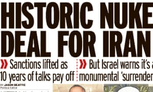 The Mirror hails Iran's deal with six global powers