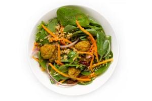 G2 salad taste test: Lebanese