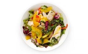 G2 salad taste test: Chicken and Mango