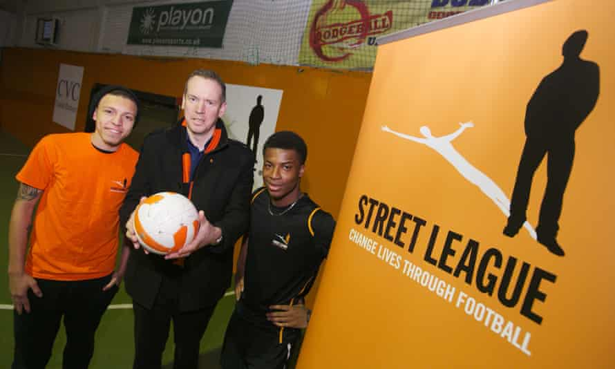 Street League is a national charity which aims to increase youth employment by using football as a development tool.