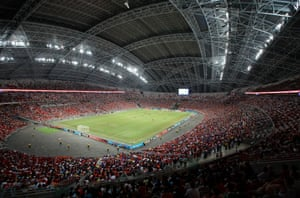 There's a fair few inside the National Stadium.