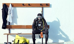 Diving kit  ₤1,000, Villecresnes Complete set of N2 scuba-diving kit, including  bag Lakhdar is an electrician but his passion is diving.