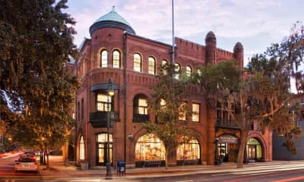 The Savannah College of Art and Design campus, in Savannah, Georgia.