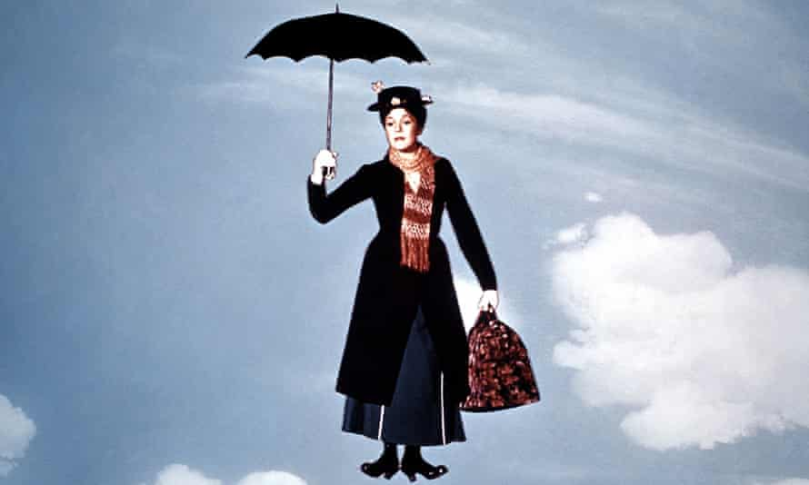 Mary Poppins … bound to be nice when she's drunk.