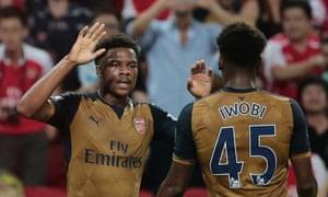 Arsenal's Chuba Akpom