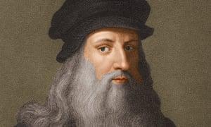 Circa 1510, Italian artist, architect, engineer and scientist Leonardo da Vinci.
