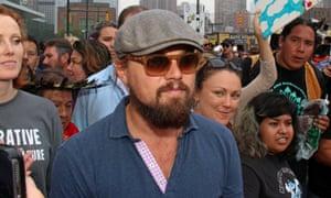 Leonardo DiCaprio in New York