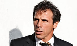Gianfranco Zola has been named as the new manager of Qatar's Al Arabi. Photograph: Jed Leicester/Action Images