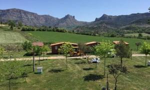 Camping Isabena, Pyrenees