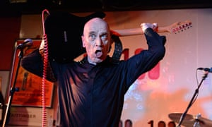 Wilko Johnson performing at the 100 Club in London