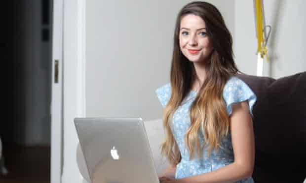 Zoella: estimated to have earned more than £300,000 last year