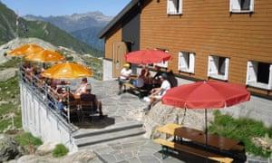 Capanna Leit, Swiss Italian Alps