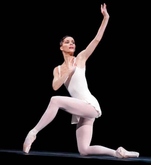 Darcey Bussell in Apollo at Royal Ballet in 2007.
