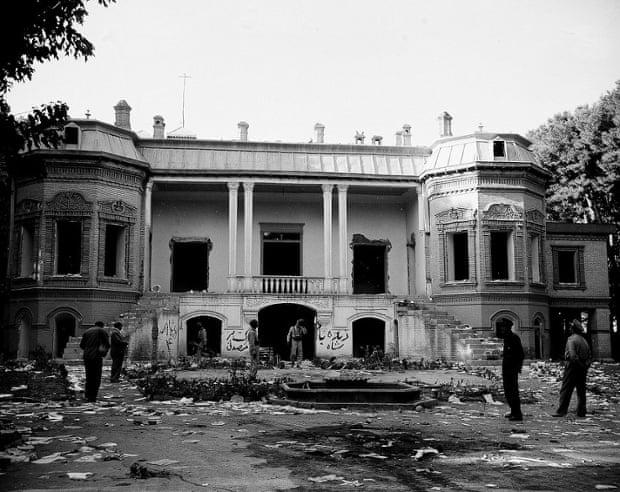 خانه دکتر مصدق در 28 مرداد
