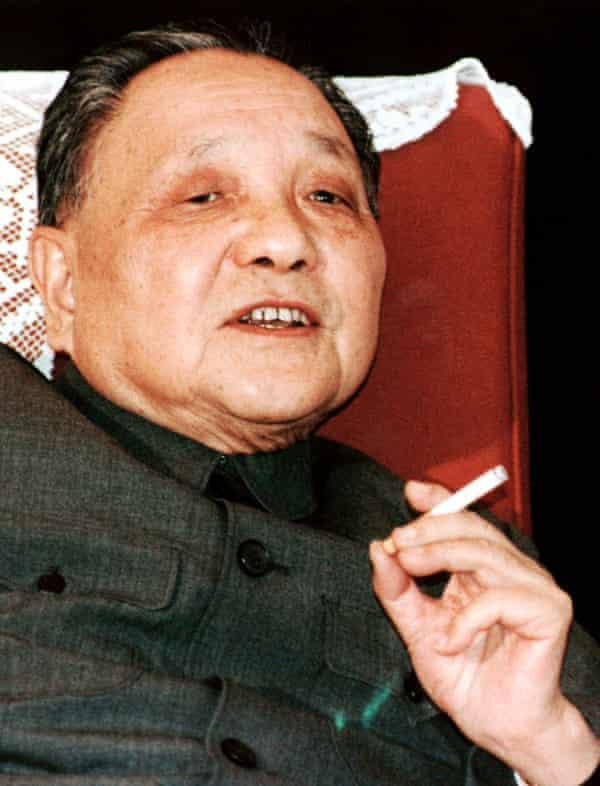 Deng Xiaoping in 1986.