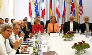 John Kerry (left) and other foreign ministers, who apparently snacked on Strawberry Twizzlers and Cheestrings among other things.