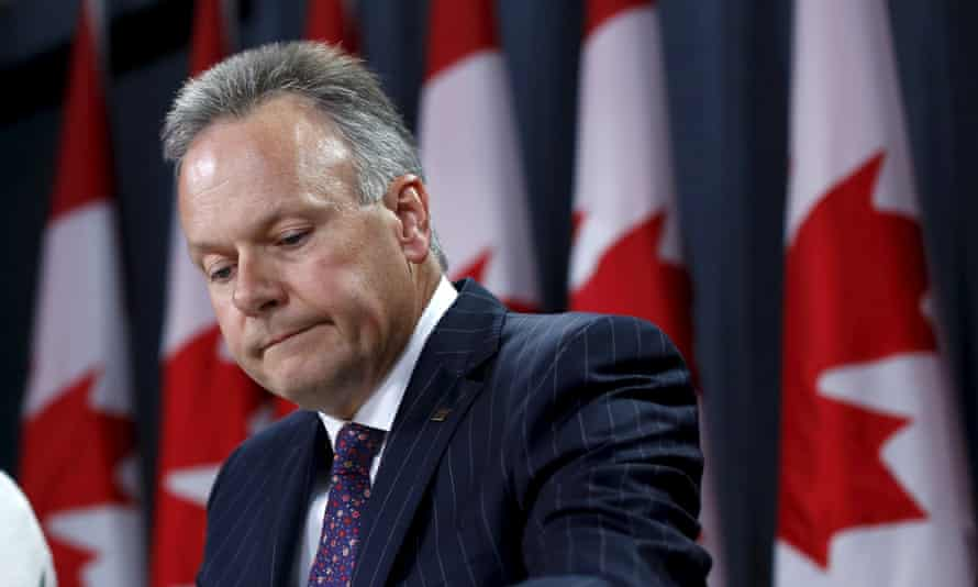 Bank of Canada Governor Stephen Poloz takes part in a news conference upon the release of the Monetary Policy Report in Ottawa.