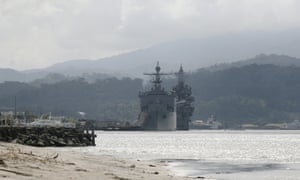 Philippines reopens Subic Bay as military base to cover South China