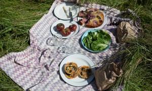 Wigmore, hazelnut and broccoli tarts