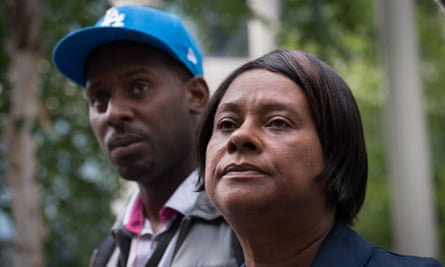 Doreen Lawrence and her son Stuart