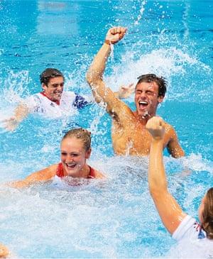 Tom Daley in pool