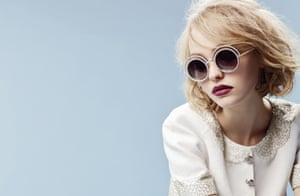 Lily-Rose Depp in her debut campaign for Chanel