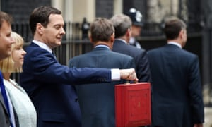 Chancellor George Osborne announced a higher minimum wage for UK workers but also cut tax credits for UK families.