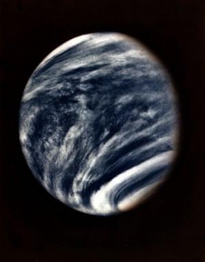 Venus taken from mariner 10 in 1973