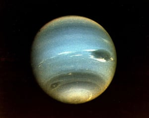 Neptune from First Voyager 2 Flyby in 1989