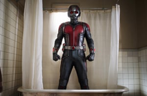 Paul Rudd, ready for action in Ant-Man