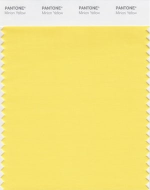 Meet Minion Yellow By Pantone The Worlds First Character Branded