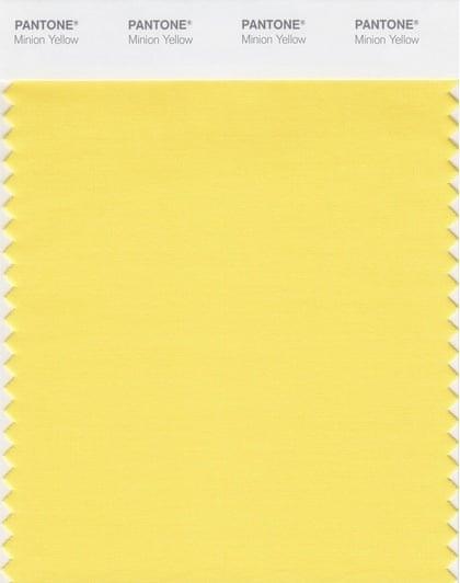 Pantone Color Institute® Announces PANTONE Minion Yellow
