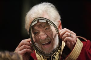 Ian McKellen played King Lear