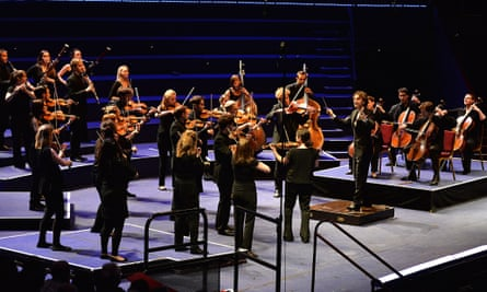 Mental notes … the Aurora Orchestra, which is set to perform Beethoven's Pastoral Symphony without printed scores at this year's Proms.