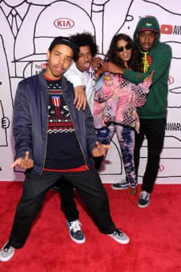 Earl Sweatshirt at the YouTube Music awards in 2013