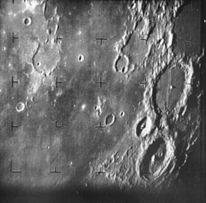 The first picture taken of the moon by a US spacecraft in 1964