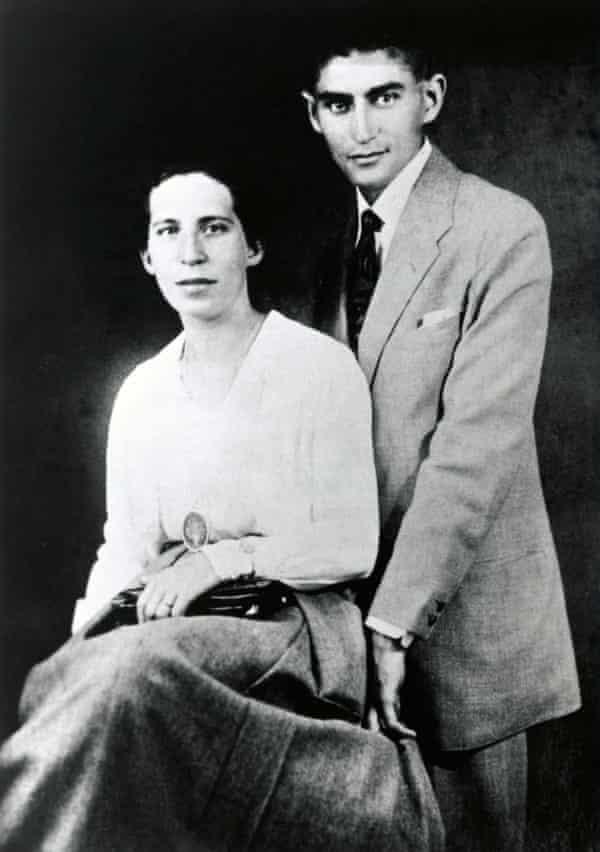 Felice Bauer and Franz Kafka, c1900.