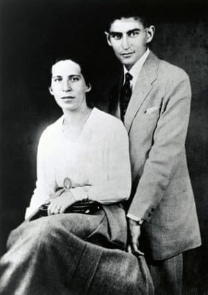 Felice Bauer and Franz Kafka, c1900.