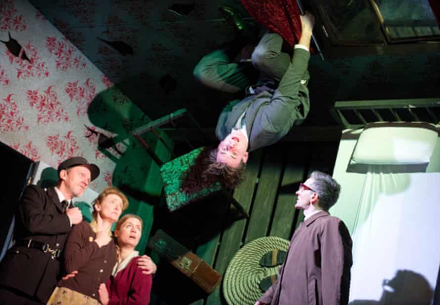 The 2013 stage adaptation of <em>Metamorphosis</em> at London's Lyric Hammersmith.