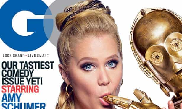 Amy Schumer on the cover of GQ